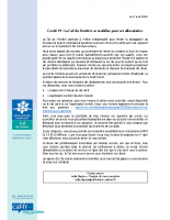 Note d'information Covid19